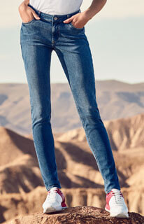 Q/s Designed By Sadie Superskinny: Ankle-jeans Light Blue Denim Hea